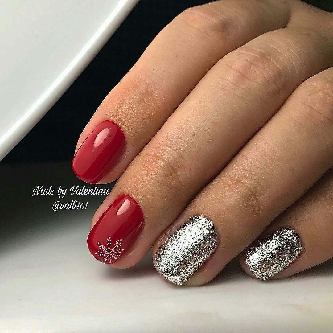 Pin By Nicole Woodliff On Nails Christmas Pinterest Manicure