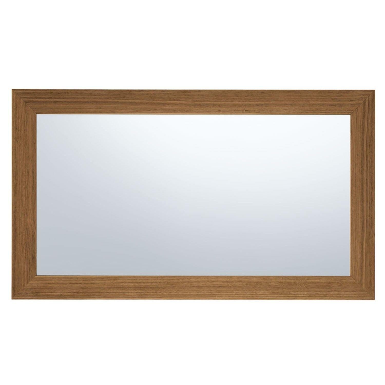 Jesse Plat Espejo sencillo con marco de madera, modelo Plat de Jesse ...