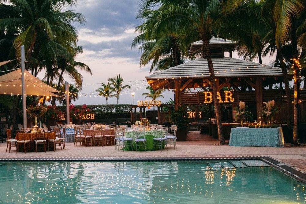 National Hotel Miami Beach Fort Lauderdale Weddings ...