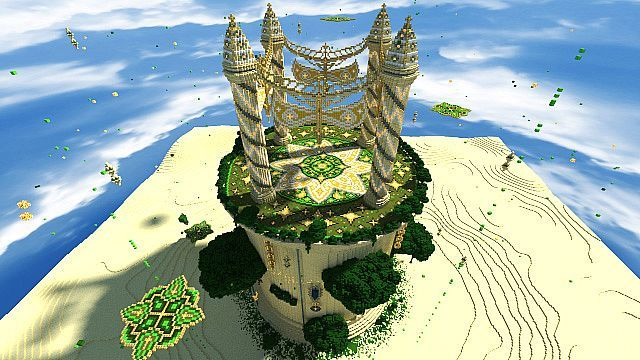 Baischad The Desert Monument With Images Minecraft Cool