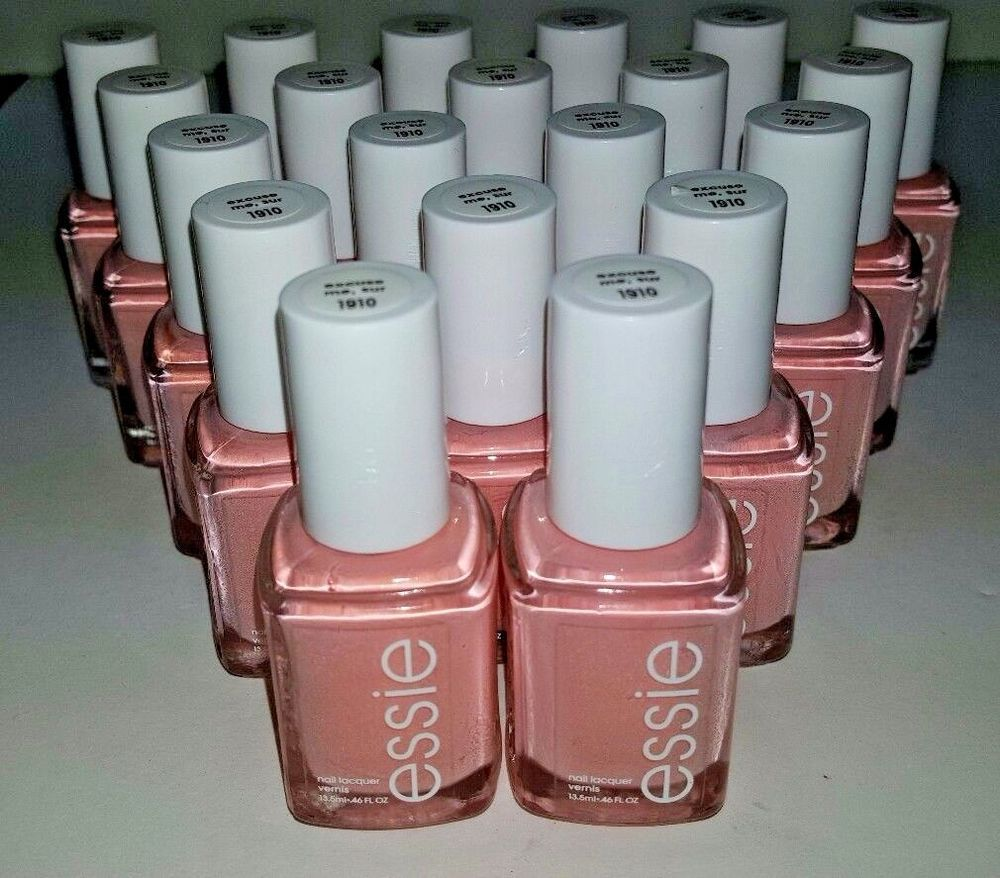 20 ESSIE Wholesale Nail Polish Bulk Lot ~ SAPPHIRE BLUE Baby Bridal ...