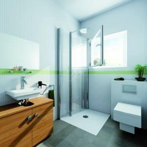 dreh-falt-dusche / dusche vorm fenster | elw | pinterest, Hause ideen