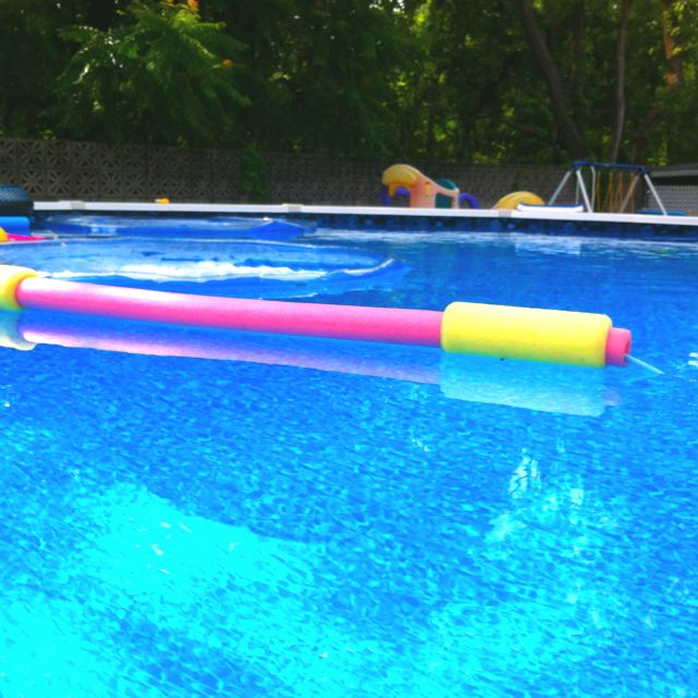 Use A Pool Noodle Help Keep The Vac Cord From Tangling Pool Spa Pool Pool Decor