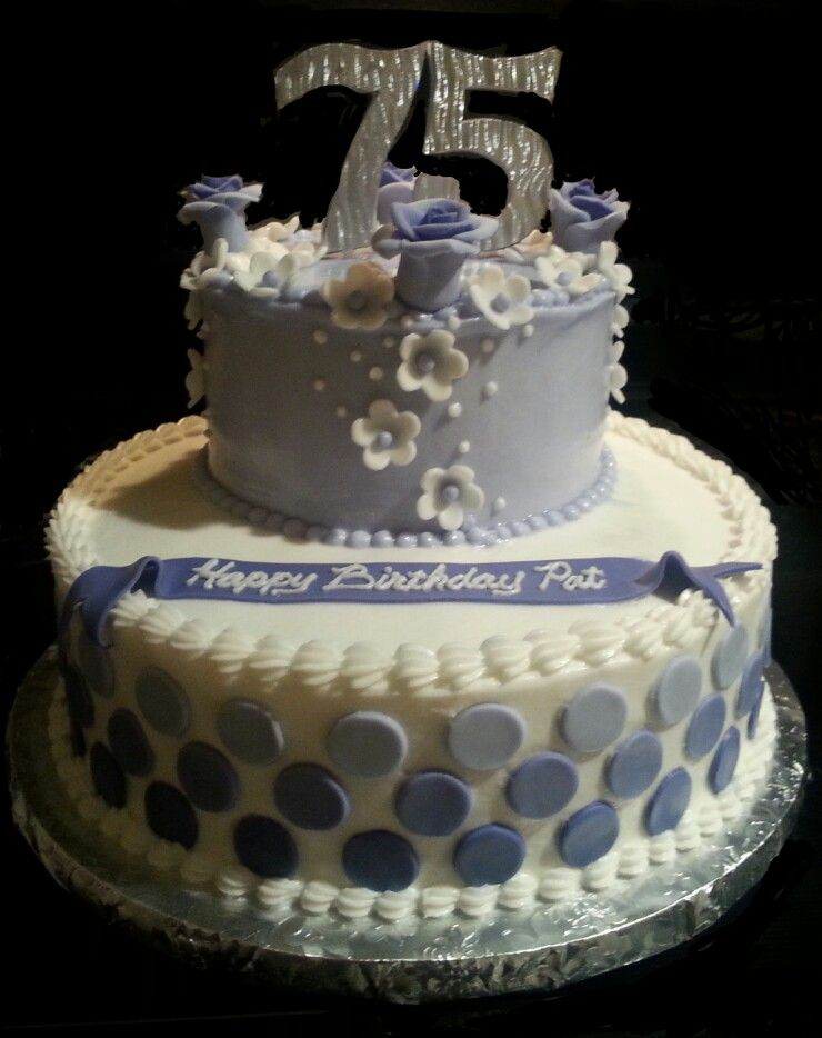 75th birthday cake my cakes pinterest 75th birthday for 75th birthday decoration ideas