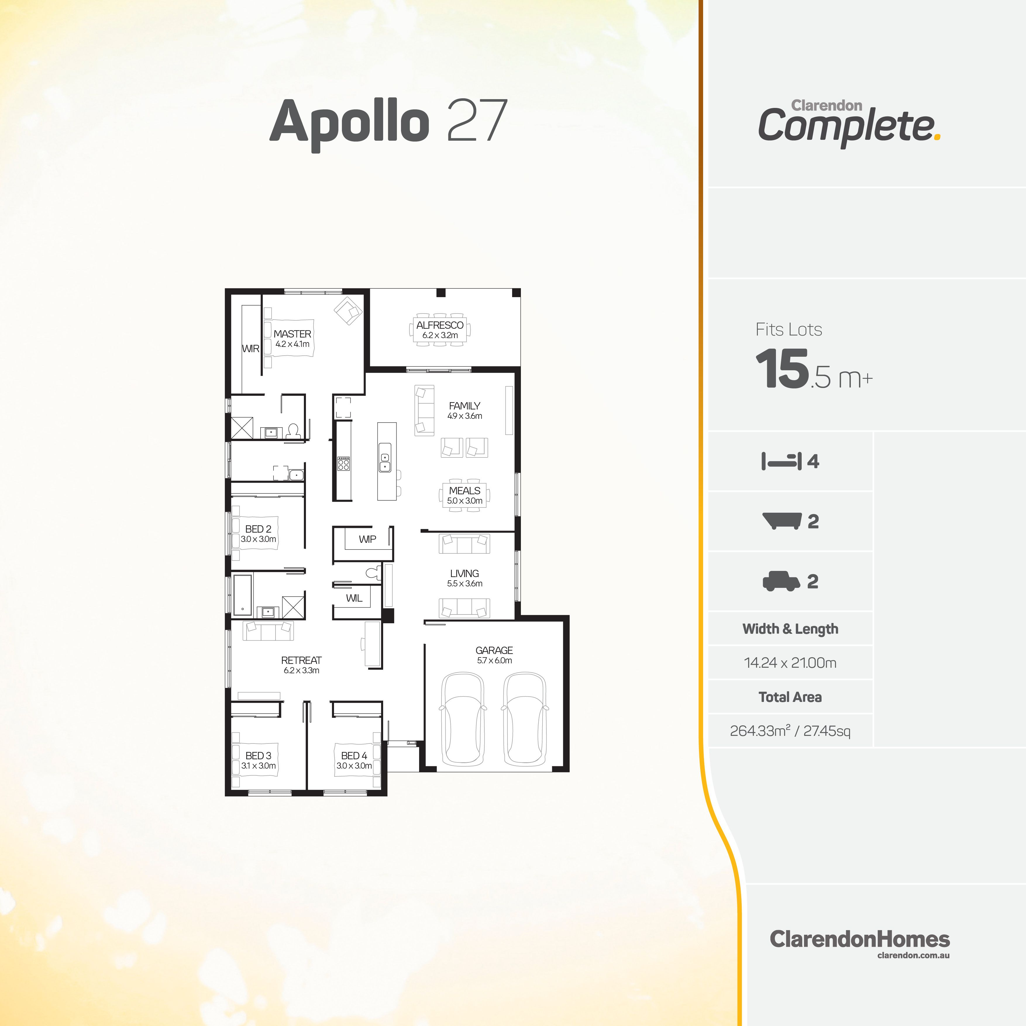 Clarendon Homes. Apollo 27. An ambitious design that aims to have it ...