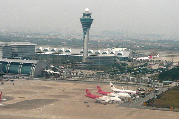 The 110m 361ft High Atc Tower At Guangzhou Baiyun International Airport Is The Fifth Tallest Atc Tower In The World And The Tallest Atc Tower In China See Ot