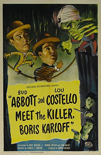 Watch Abbott and Costello Meet the Killer, Boris Karloff Full-Movie Streaming