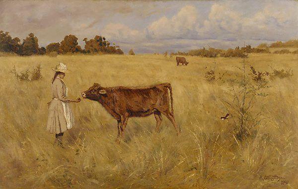 "Arthur Collingridge ""A Token Of Friendship"" 1890"