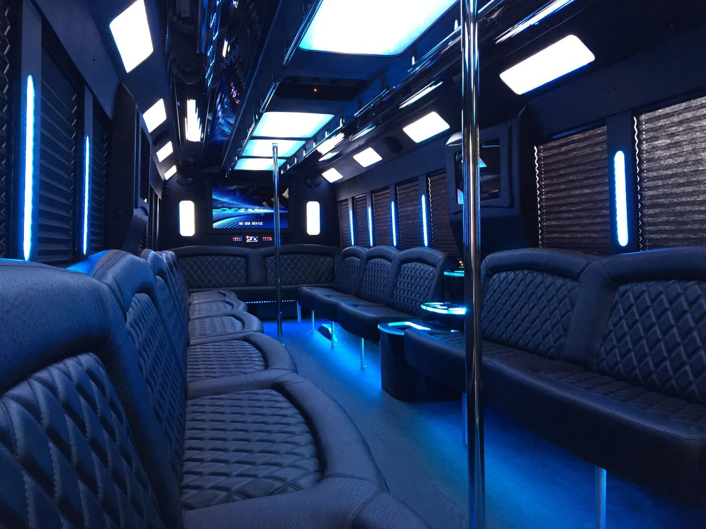Limo party bus in san diego orange county lush limo