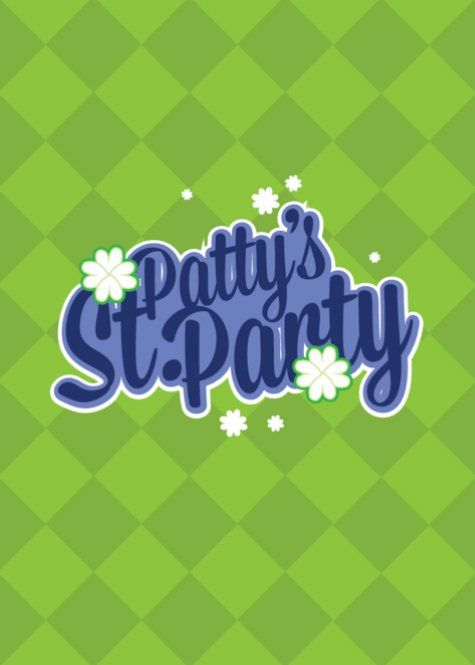 Checkered St Patrick;s Day greeting card template printable St - printable greeting card templates