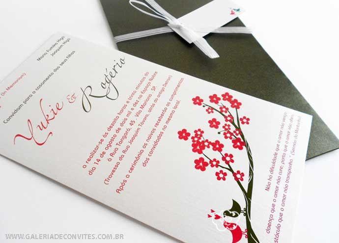 modelo 31: convite de casamento moderno com casal de ...