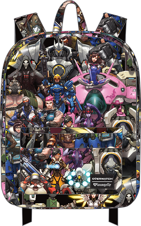 7de8ed7c0f0 Overwatch All Over Print Backpack Apparel
