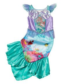 Multicoloured Ariel Disney Costume (3 - 10 years)  sc 1 st  Pinterest & Multicoloured Ariel Disney Costume (3 - 10 years) | Childrenu0027s Fancy ...