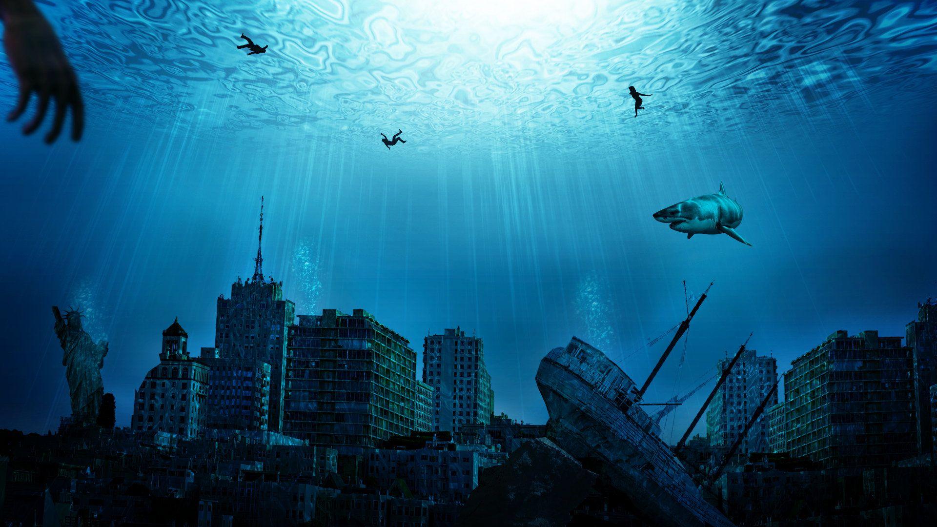 underwater city | Underwater City Wallpaper HD by ~Samuels-Graphics on deviantART | Alternate ...
