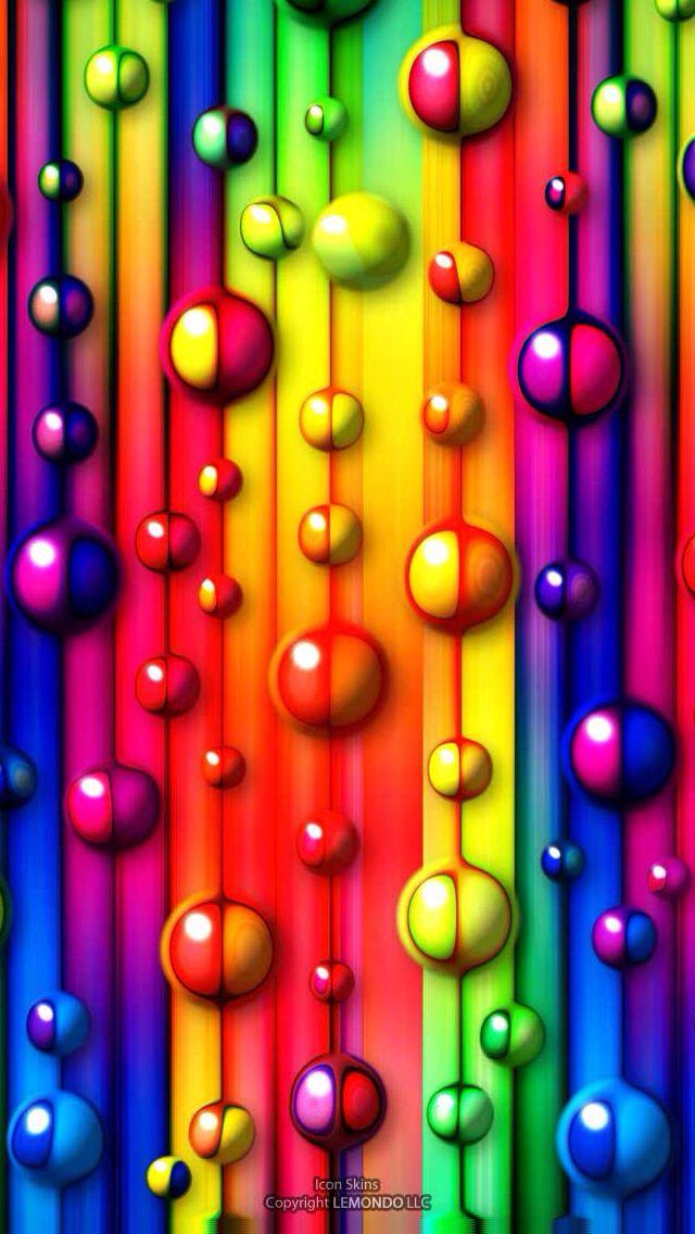 Iphone 5 Wallpaper Rainbow Wallpaper Cellphone Wallpaper Iphone Wallpaper Cool colorful cellphone wallpapers