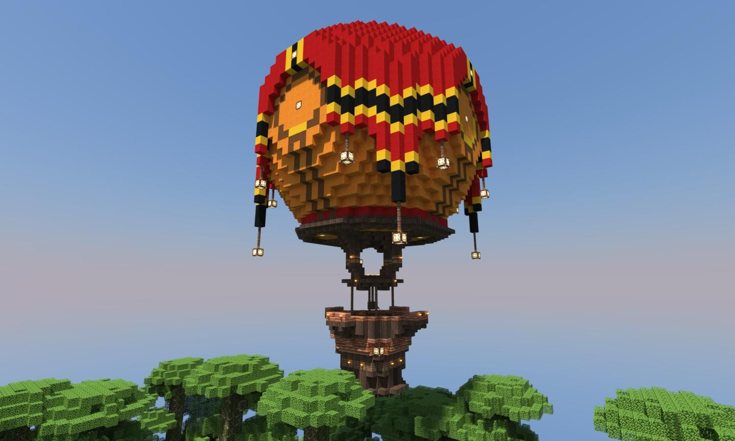 Decided to try my hand at building a hot air balloon for How to make a small air balloon