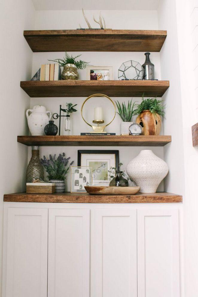 + 46 Choosing Farmhouse Dining Room Shelves Decor 24 - Decorinspira.com