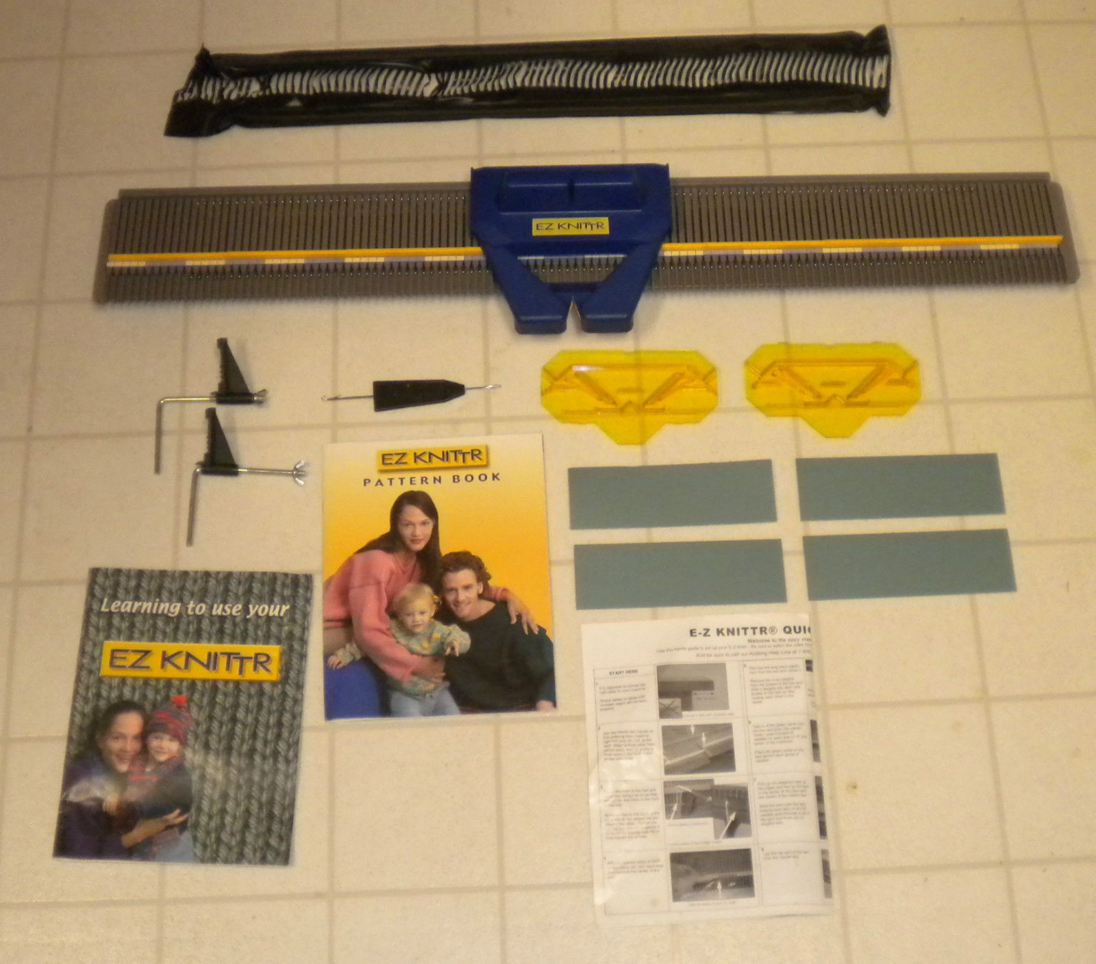 User Guide · Magazine · EZ Knittr Knitting Machine Easy Knitter - Similar  to Bond knitting machine Knitting Machine, Needlecrafts