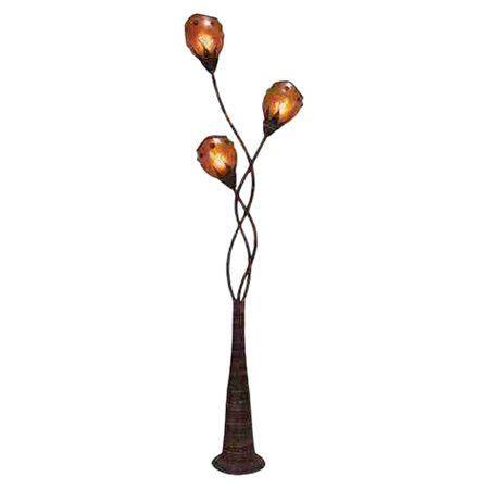 "Toscana Abaca Decorative 70"" Floor Lamp"