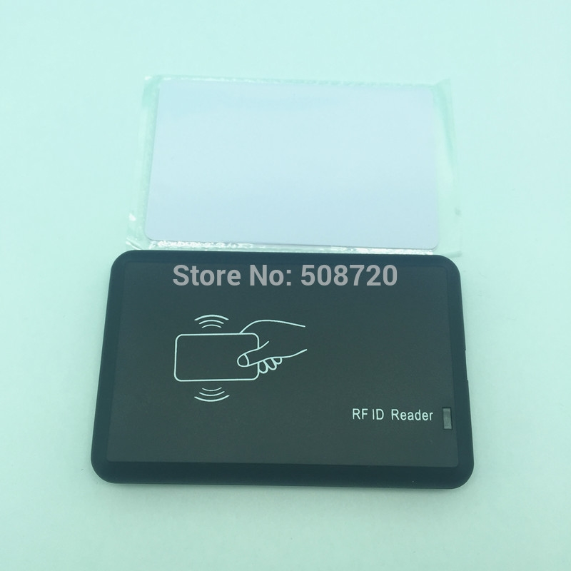 118.00$  Buy now - http://ali25w.worldwells.pw/go.php?t=32265635805 - RFID H ID Card copier/writer/duplicator support T5577 card 118.00$