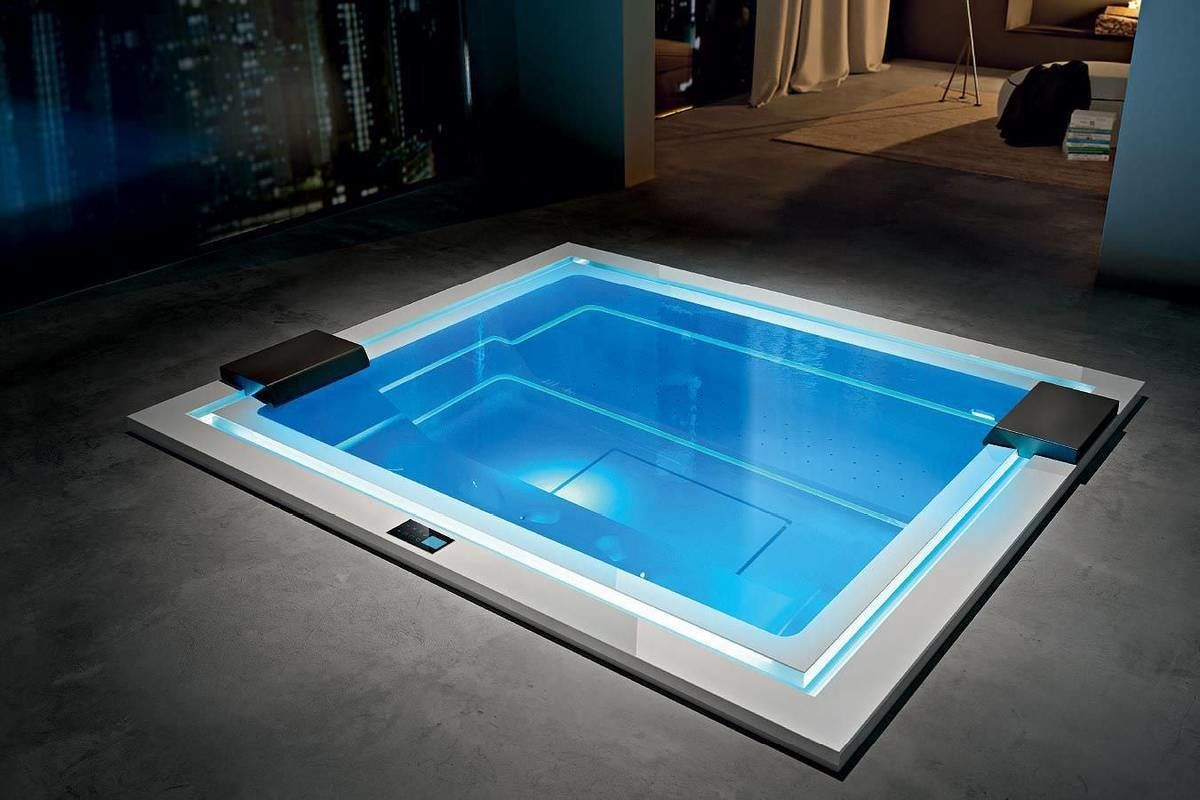 Aquatica Wave Spa Pro By Marc Sadler 240v 60hz Luxury Hot Tubs Indoor Jacuzzi Modern Hot Tubs