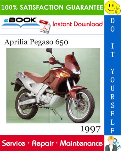 1997 Aprilia Pegaso 650 Motorcycle Service Repair Manual 942v Aprilia Repair Manuals Repair
