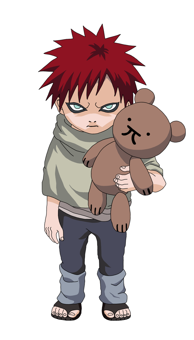 Render Childhood Gaara by Marcinha20 on DeviantArt