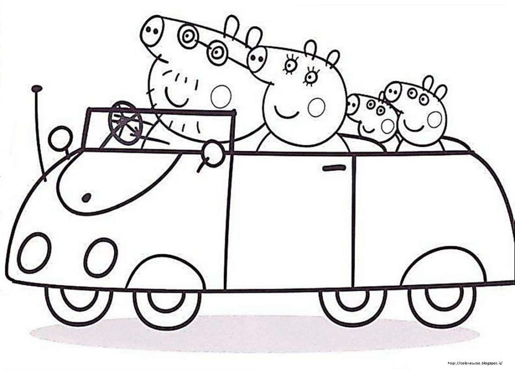 Peppa Pig Peppa Pig Coloring Pages Peppa Pig Colouring Peppa Pig Family