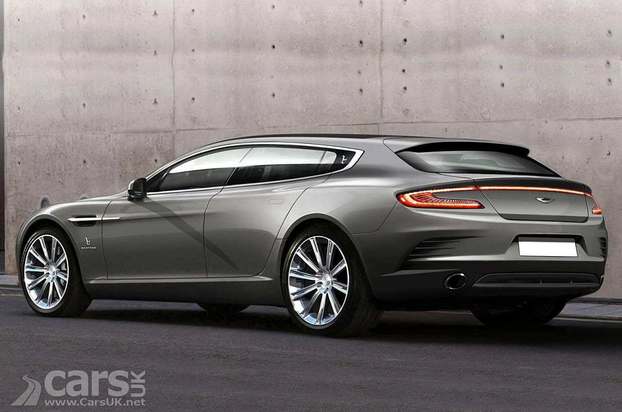 Aston martin rapide shooting brake by bertone a rapide with a small shed on the