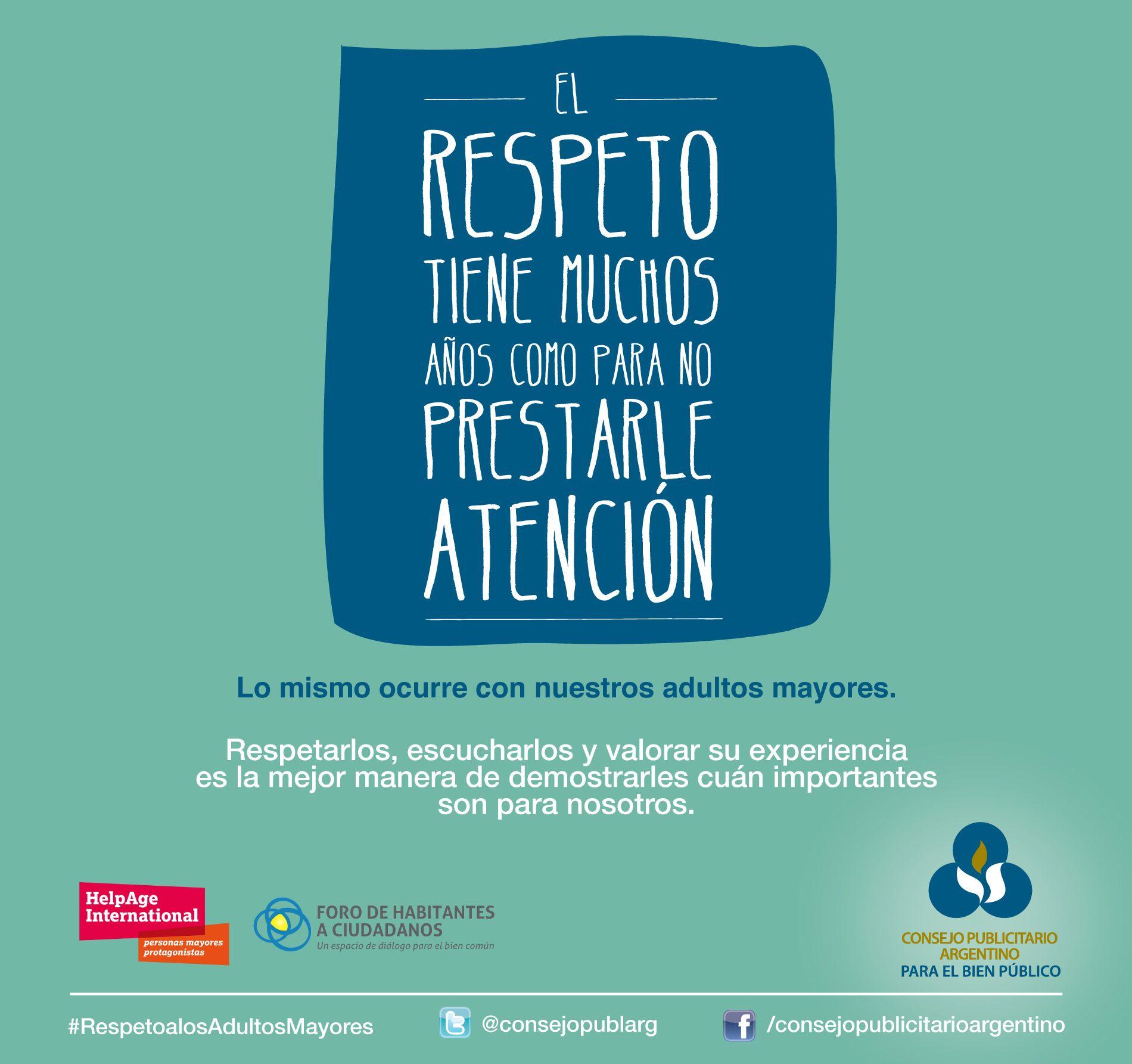 15 de Junio: Día Mundial de Toma de Conciencia del Abuso y Maltrato en la Vejez.