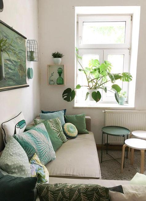 Fräulein fraeuleinnussboeck zeigt uns ihr grünes Wohnzimmer \u2013 mit - Wohnzimmer Design Grun