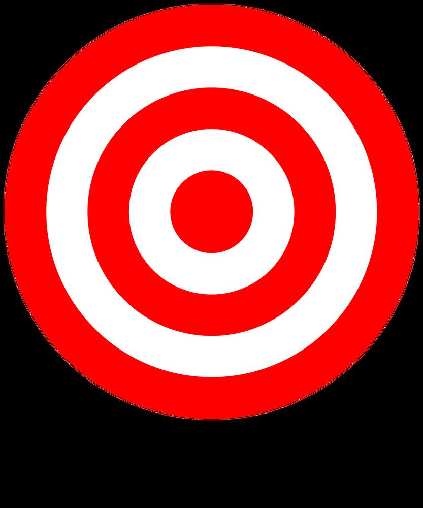 Bullseye Target Red White Shooting Rings Art Print By Phoxy Design X Small Bullseye Target Bullseye Red And White