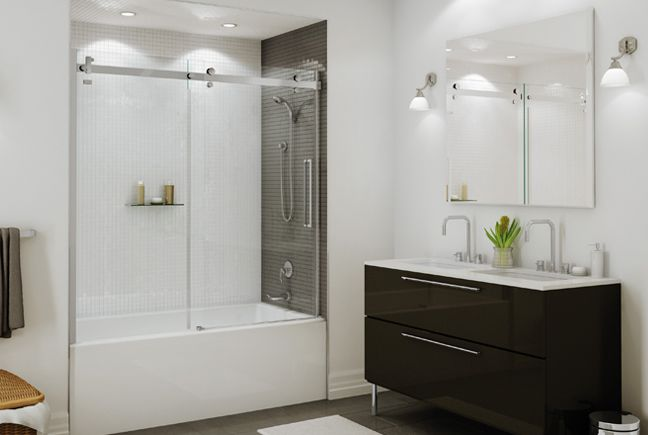 Bathtub Cum Shower Door For The Bath Pinterest Halo