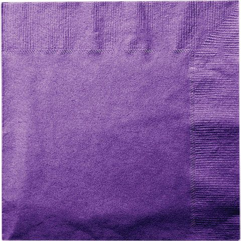 Bulk Purple Paper Lunch Napkins 13  20-ct. Packs at DollarTree.com & Bulk Purple Paper Lunch Napkins 13