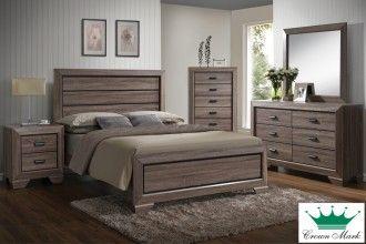 Farrow Grey Complete Queen Bed | Surplus Furniture And Mattress Warehouse  Store In Sydney Nova Scotia