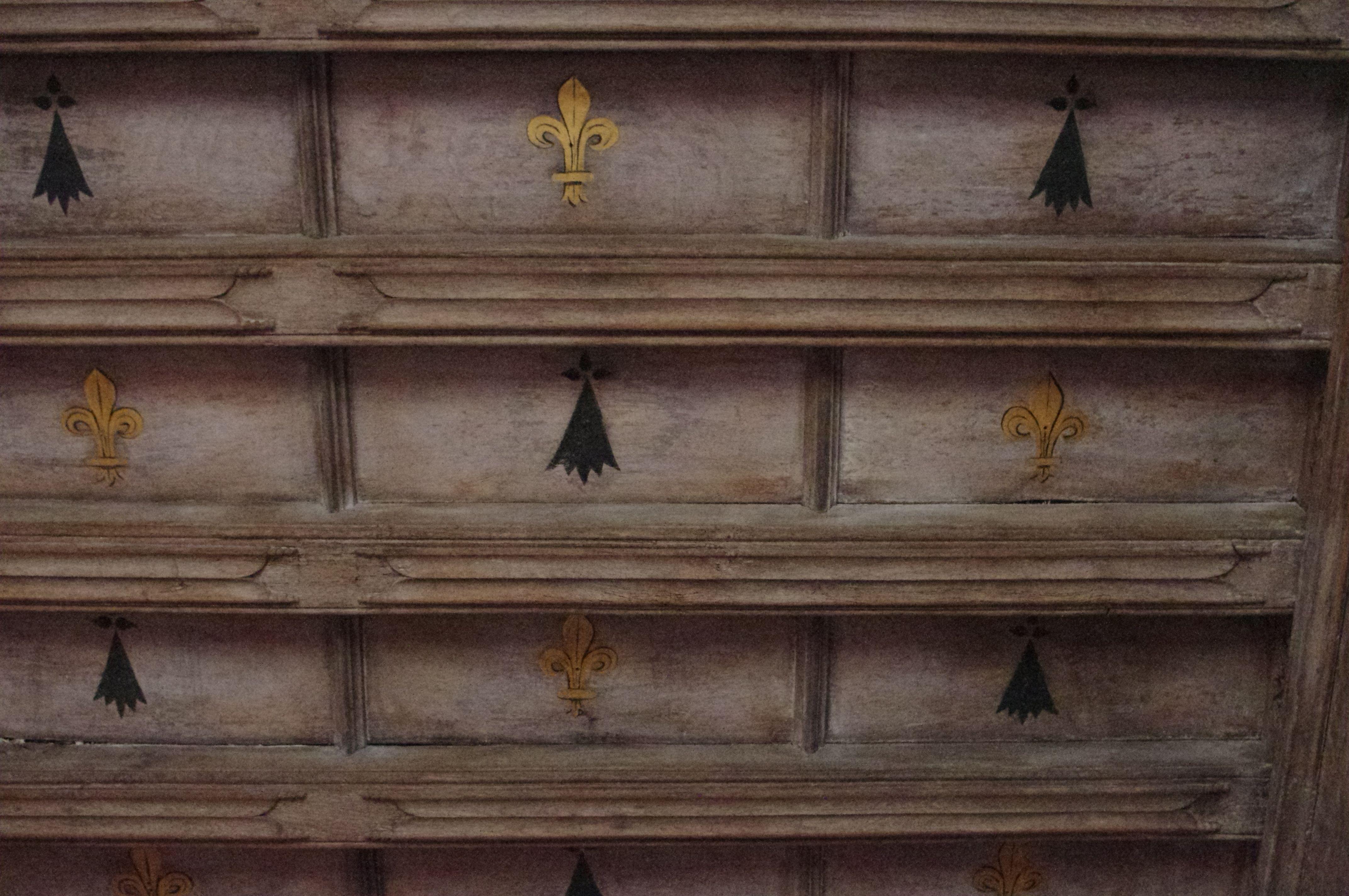 Le Bois Orcan Chateau Des Xive Et Xve Siecles Classe Mh Plafond