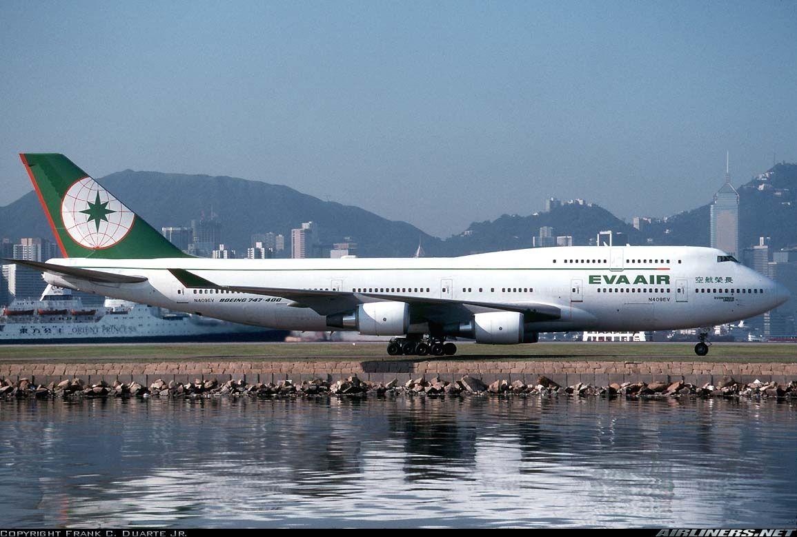Boeing 74745EM EVA Air Aviation Photo 1203219