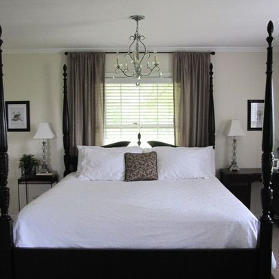 Bed In Front Of Window Design Ideas Pictures Remodel And Decor