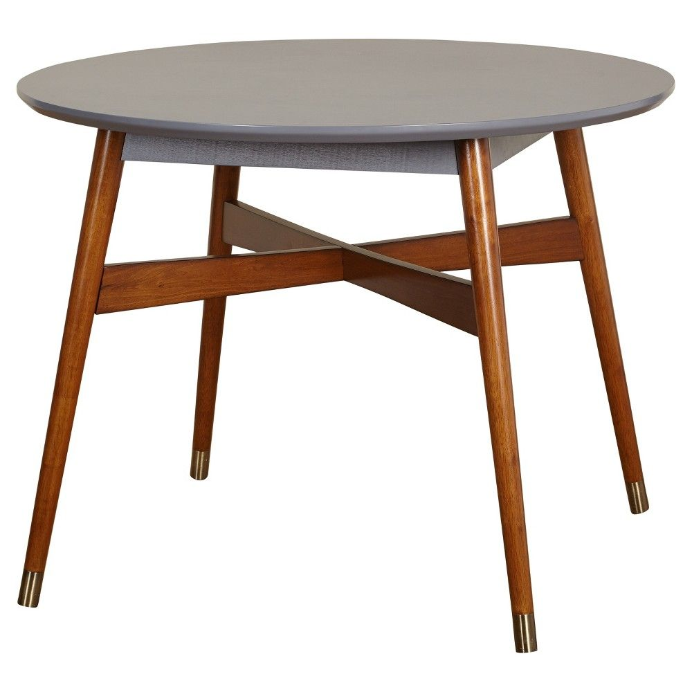 angelo:HOME Allen Dining Table - Gray / Walnut   Gray and Target