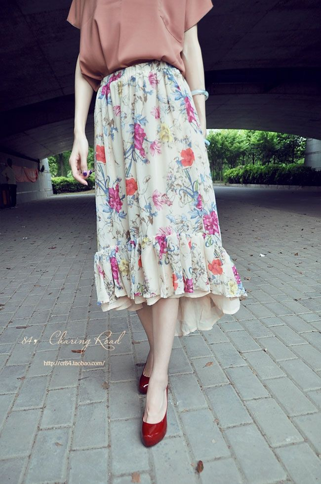 lovely flowery dress