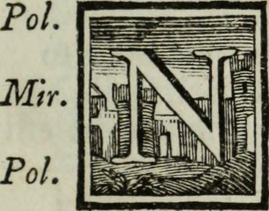 """Image from page 10 of """"Adunanze degli Arcadi pubblicate nelle nozze di ... Giacinta Orsini ... con ... Don Antonio Boncompagno Ludovisi"""" (1757) #initial_N #initial #N"""