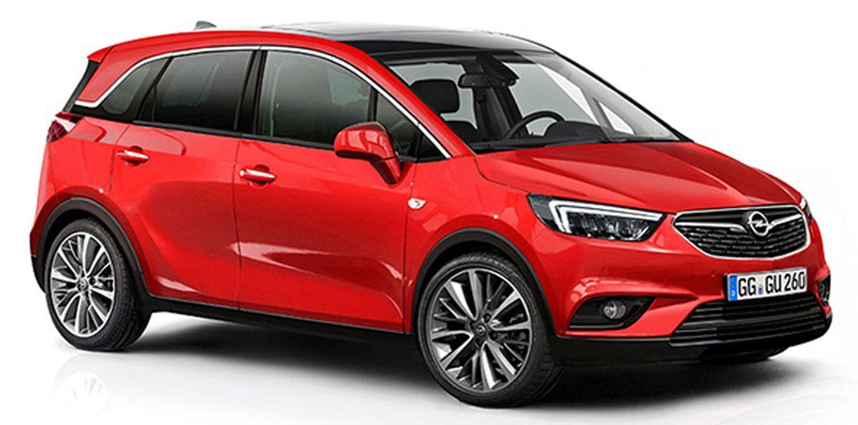 Výsledek obrázku pro Opel crossland x obrázky