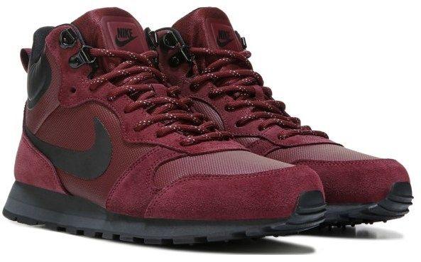 nike women's md runner 2 metà scarpa boot bordeaux le scarpe