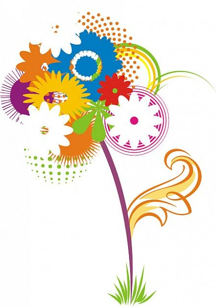 Flor En Vector Buscar Con Google Vectores Pinterest Vector