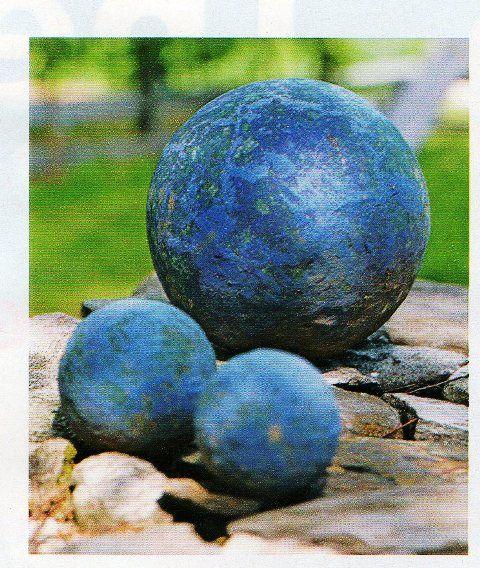 How To Make Hypertufa Concrete* Balls