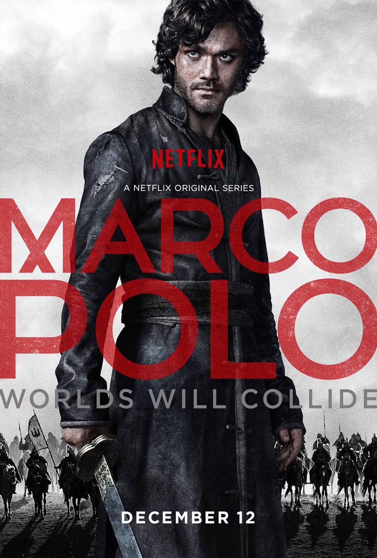 Marco Polo Season 1 TV Posters Pinterest