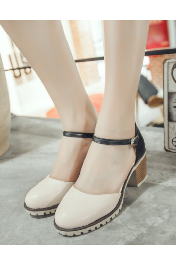 66c15dea0 Retro Beige Black D orsay Sandals  meta-filter-size-5  meta-filter-size-5-5…