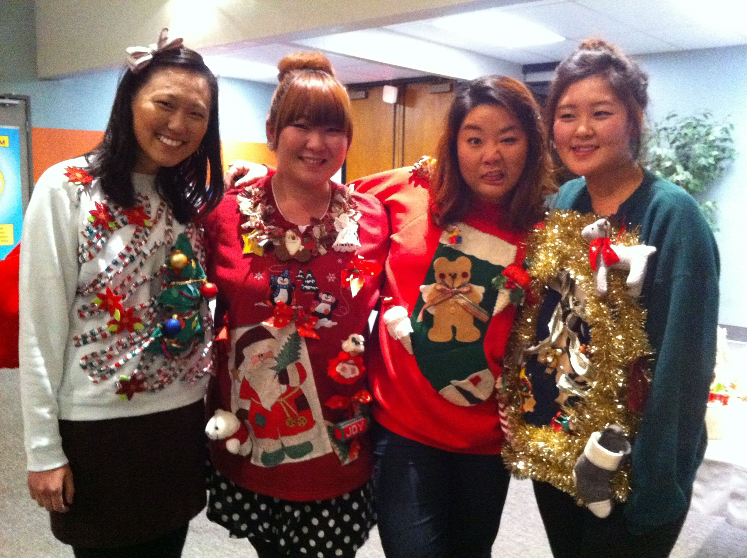 what to wear for ugly sweater party