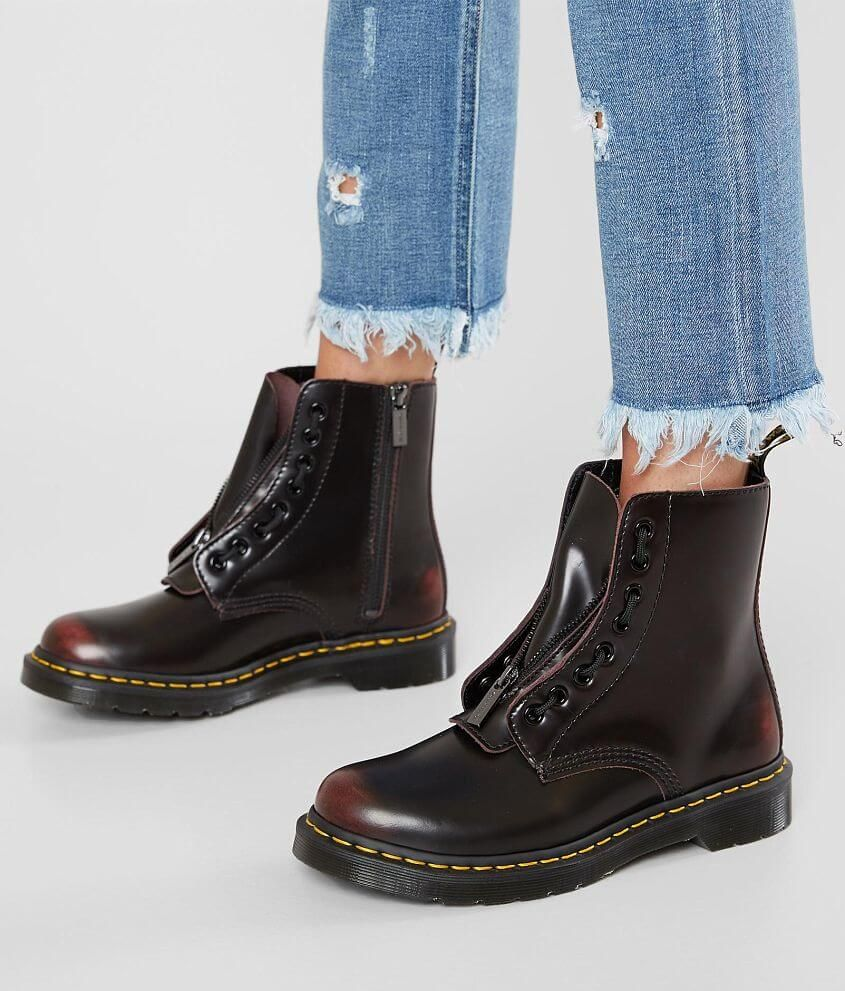 DR MARTENS WOMEN'S CAITE LEATHER TALL BOOT (21227001) | Get