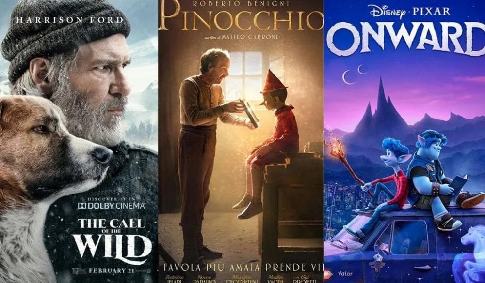 أفلام أجنبية للمشاهدة العائلية جمعنا لكم أفضل 10أفلام مناسبة للعائلة بوابة الأسرار Pinocchio Harrison Ford Pixar